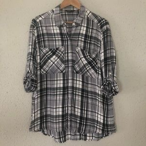 Express Oversized Flannel